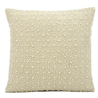 Nourison Kathy Ireland Ivory 16-inch Pillow