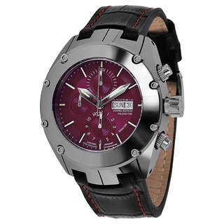 Android Men's Virtuoso Tungsten T-100 Valjoux 7750 Automatic Chrono Limited Edition Red Watch
