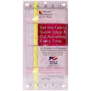 "Guidelines Ruler-6""X12"""