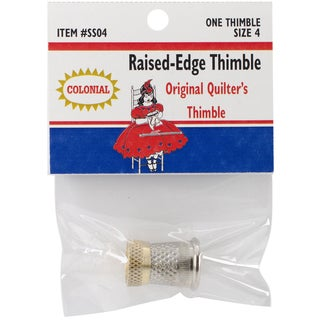 Raised-Edge Thimble-Size 4