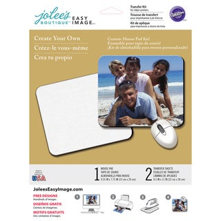 """Jolee's Easy Image Transfer Sheets 8.5""""X11""""-Mouse Pad"""