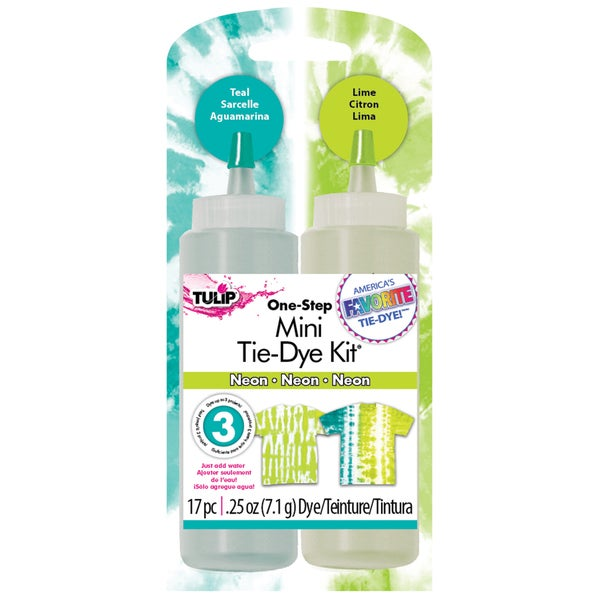 Tulip Mini Liquid Tie-Dye Fabric Dye Kit-Neon