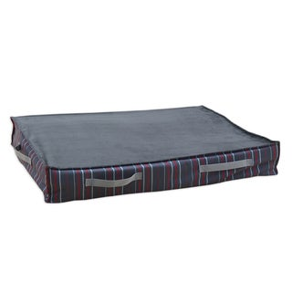 Multi Stripe Charcoal Under the Bed Storage