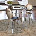 Dalton Home Indoor Chair Collection Polished Round Back Dining Chair (Set of 2)
