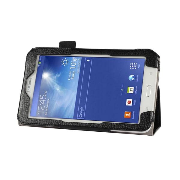 Double-Fold Folio Case for Samsung Galaxy Tab 3 Lite