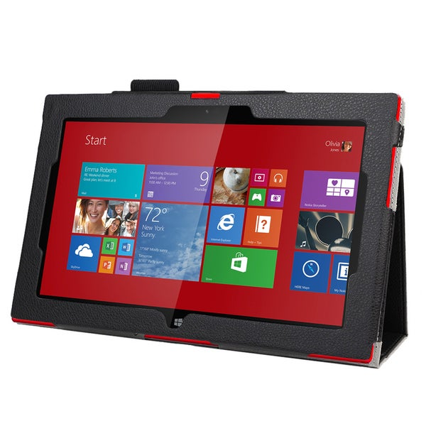 Double-Fold Folio Case for Nokia Lumia 2520