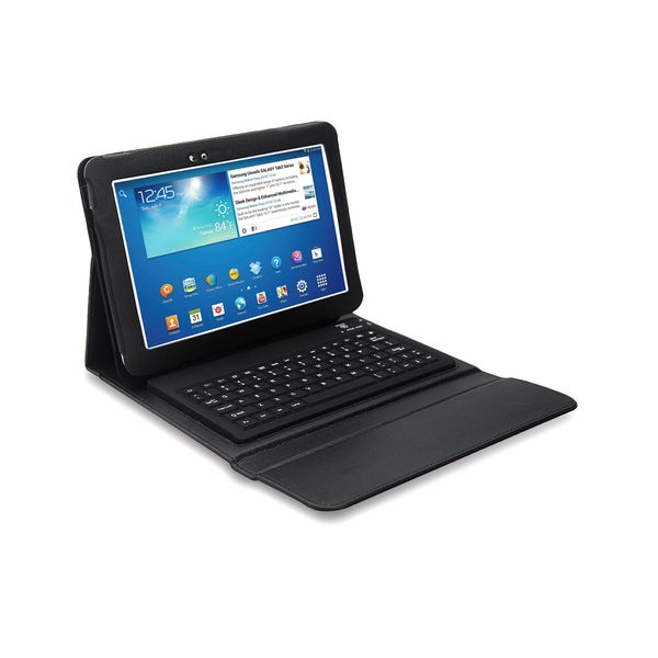Bluetooth Keyboard Folio for Samsung Galaxy Tab 3 10.1 in.