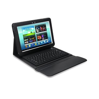 Bluetooth Keyboard Folio for Samsung Galaxy Note 10.1 in. Tablet