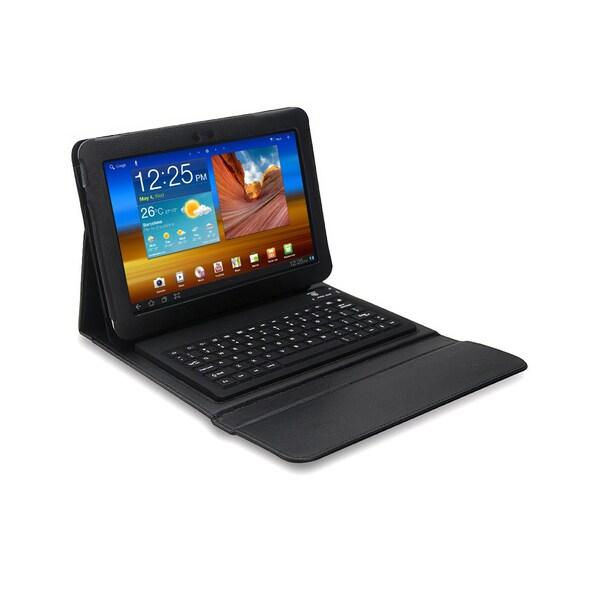 Bluetooth Keyboard Folio for Samsung Galaxy Tab 10.1 in. Tablet