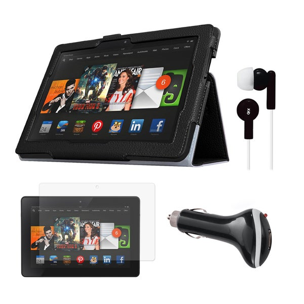 Accessory Bundle for Kindle Fire HDX 8.9 in. Tablet
