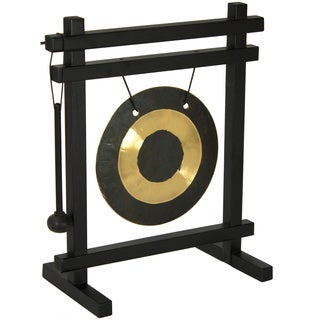 Zen Desk Gong Decorative Accent (China)