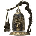 Decorative Metal Dragon Gong Accent Piece (China)