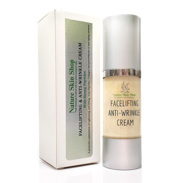All-natural Face Lifting Anti-wrinkle 1.8-ounce Cream