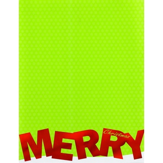 Merry Christmas Foil Holiday Designer Paper