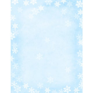Winter Flakes Holiday Designer Paper