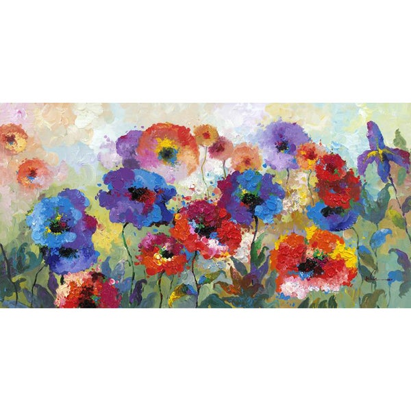 Flower Garden Cotton Canvas