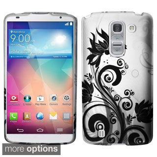 BasAcc Pattern Dust Proof Rubberized Hard Case Cover for LG G Pro 2