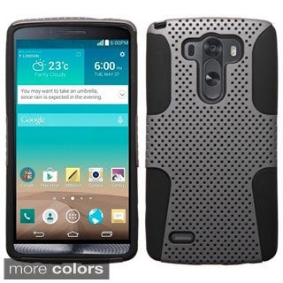 BasAcc Shock Proof PC Silicone Dual Hybrid Case for LG G3