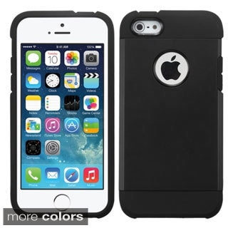 BasAcc Shock Proof PC Silicone Dual Hybrid Case for Apple iPhone 5/5c/5s