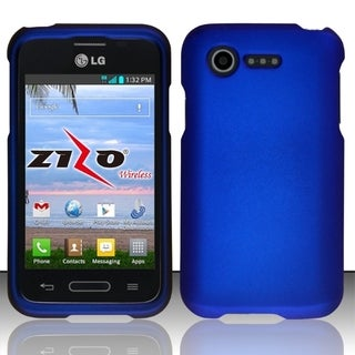 BasAcc Colorful Dust Proof Rubberized Hard Case for LG Optimus Zone 2/ Fuel