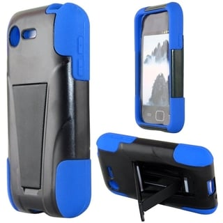 BasAcc Shock Proof PC Silicone Dual Hybrid Case for LG Optimus Zone 2/ Fuel