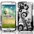 INSTEN Pattern Dust Proof Rubberized Hard Plastic Phone Case Cover for LG Volt LS740