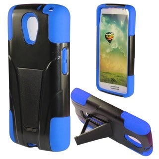 INSTEN Shock Proof PC Soft Silicone Dual Hybrid Phone Case Cover for LG Volt LS740