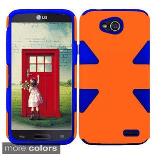 BasAcc Shock Proof PC Silicone Dual Hybrid Case for LG Optimus L90 D415