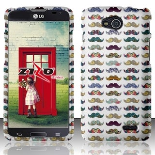 BasAcc Pattern Dust Proof Rubberized Hard Case Cover for LG Optimus L90 D415