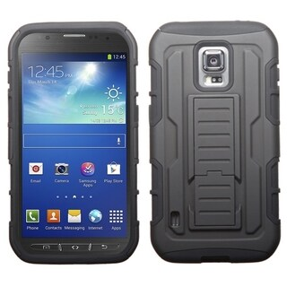 BasAcc Shock Proof PC Silicone Dual Hybrid Case for Samsung Galaxy S5 Active