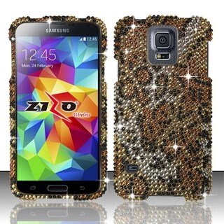 BasAcc Pattern Diamond Bling Hard Cover Case for Samsung Galaxy S5