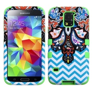 INSTEN Shock Proof PC Soft Silicone Dual Hybrid Phone Case Cover for Samsung Galaxy S5