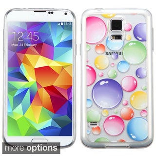 BasAcc Pattern Design TPU Gummy Case Cover for Samsung Galaxy S5