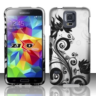 INSTEN Pattern Design Dust Proof Hard Plastic Phone Case Cover for Samsung Galaxy S5
