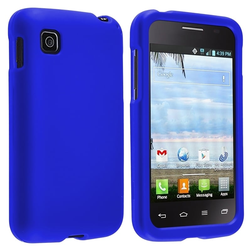 BasAcc Pattern Dust Proof Rubberized Hard Case for LG Optimus Dynamic 2 L39c at Sears.com