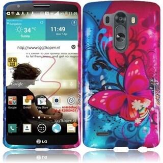 INSTEN Pattern Design Dust Proof Hard Plastic Phone Case Cover for LG G3