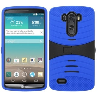 INSTEN Shock Proof PC Soft Silicone Dual Hybrid Phone Case Cover for LG G3