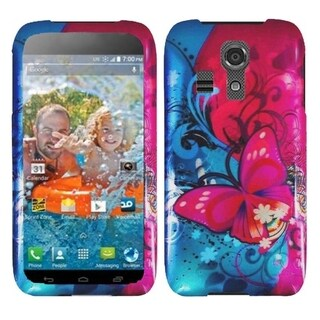 BasAcc Pattern Design Dust Proof Hard Case Cover for Kyocera Hydro Icon 6730