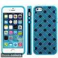 INSTEN Colorful Dust Proof PC TPU Co-Molded Phone Case Cover for Apple iPhone 5/ 5S