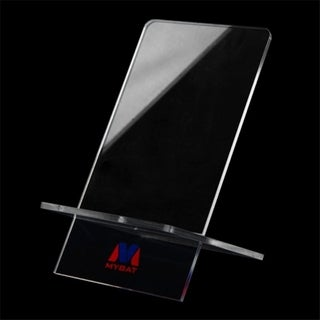 INSTEN Clear Univeral Phone Stand for BlackBerry Z10/ Q10 Apple iPhone 5S/ 5C