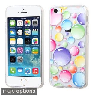 INSTEN Pattern Design TPU Gummy Phone Case Cover for Apple iPhone 5/ 5S