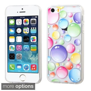 BasAcc Pattern Design TPU Gummy Case Cover for Apple iPhone 5/ 5S