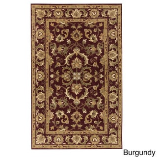 Artistic Weavers Poppy Hand-tufted Traditonal Bordered Wool Area Rug (7'6 x 9'6)