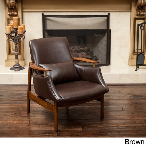 Christopher Knight Home Bridgeport Wood Frame Chair