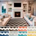 Artistic Weavers Hand-woven Macy Chevron Cotton Area Rug (3' x 5')
