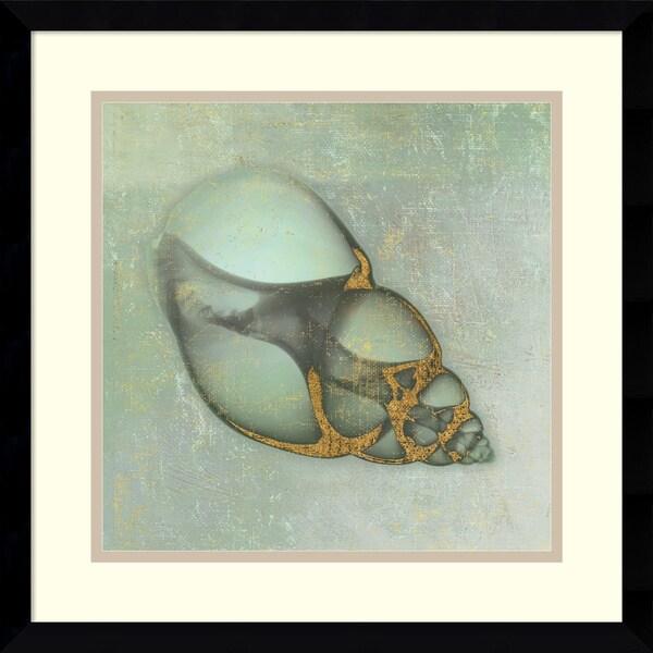Bert Myers 'Neptune's Garden III' Framed Art Print 17 x 17-inch
