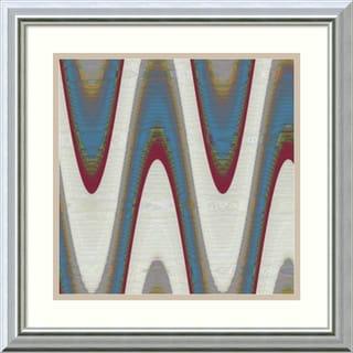 Ricki Mountain 'Radio Waves I' Framed Art Print 18 x 18-inch
