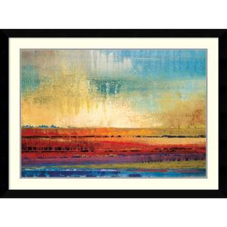 Selina Rodriguez 'Horizons I' Framed Art Print 43 x 32-inch