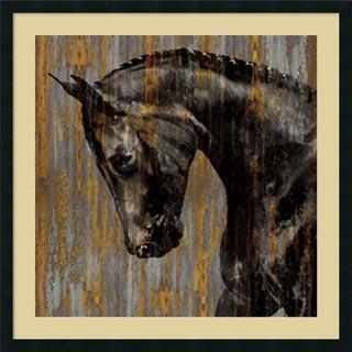 Martin Rose 'Horse I' Framed Art Print 34 x 34-inch