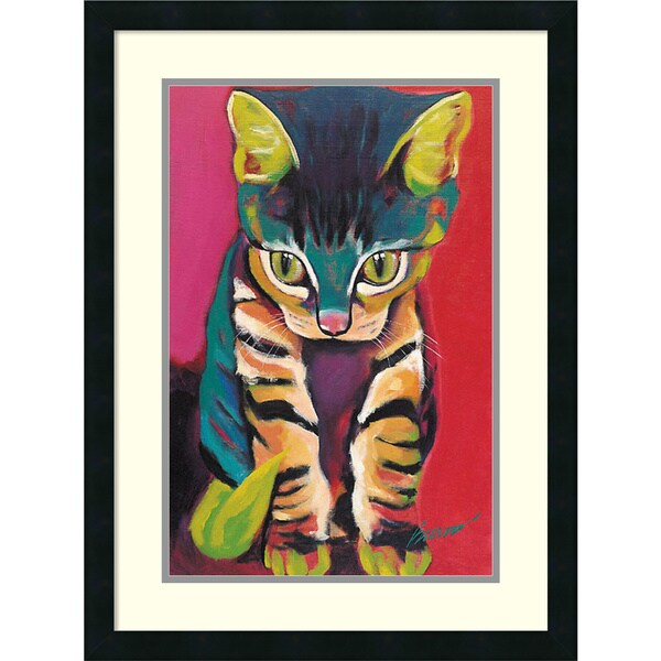 Ron Burns 'Squirt' Framed Art Print 20 x 27-inch